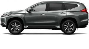 Mitsubishi Pajero Titanium Grey Metalic